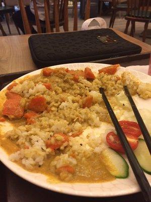 Taiwan Airport Meal