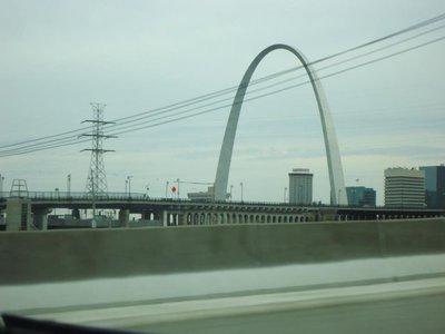 Arch in St. Louis, Missouri