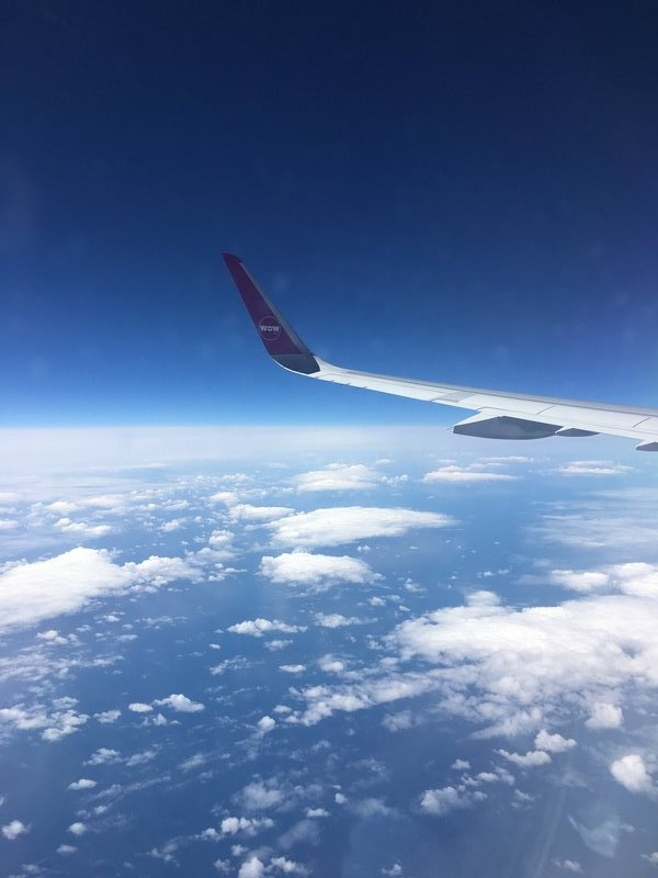 My plane over iceland