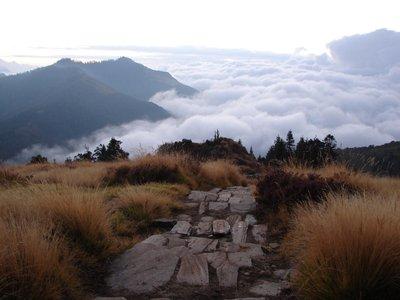 Der Weg ins Wolkenmeer