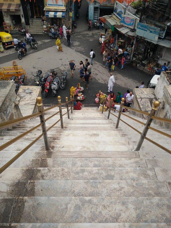 Staircase of Jag Mandir, Udaipur