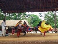 Cultural performance at Shilpgram, Udaipur (Rajasthan)