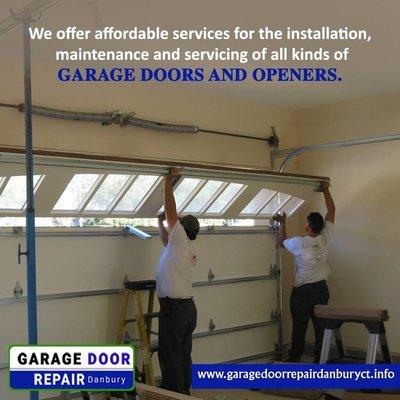 Garage Door Servicing in Danbury