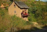 sul terrazzo malgascio