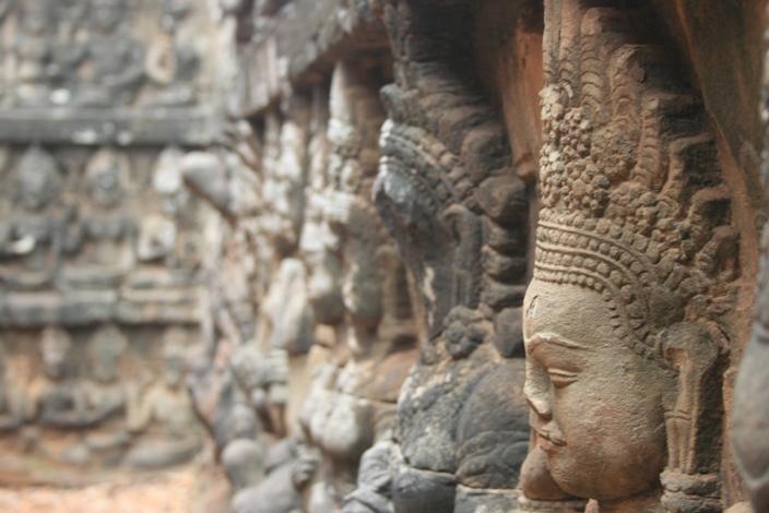 Terrace of the Elephants - Siem Reap