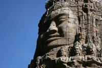 The mighty Bayon faces at Angkor Thom