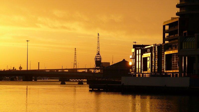 Docklands at Dawn