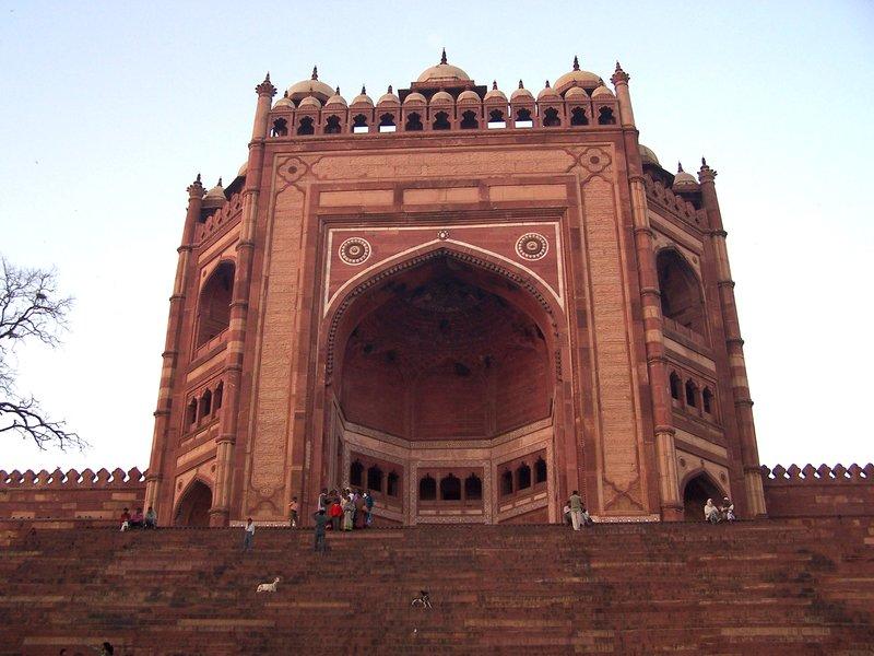 Enterance to Agra