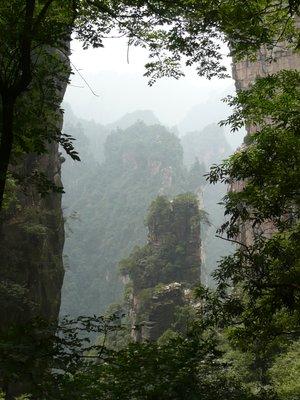 Zhangjiajie peak