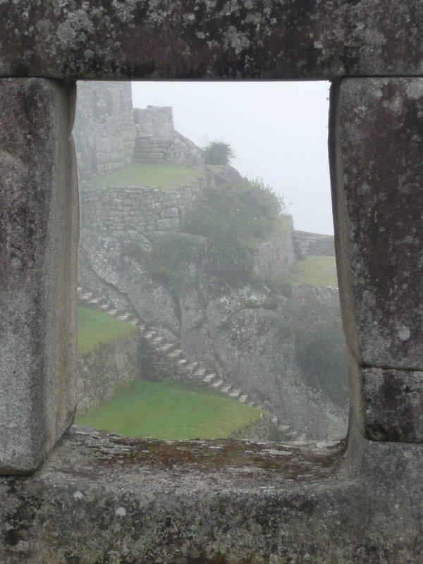 Inca Window at Machu Picchu