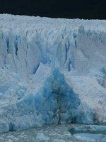 Close up of Perito Moreno Glacier