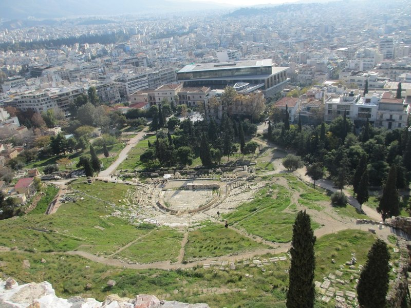 View from the Top of the Acropolis Hill