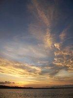 Sunset in Sawo, Nias
