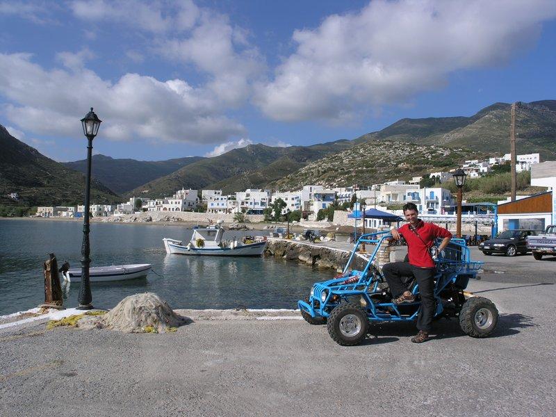 Naxos Buggy Exploring