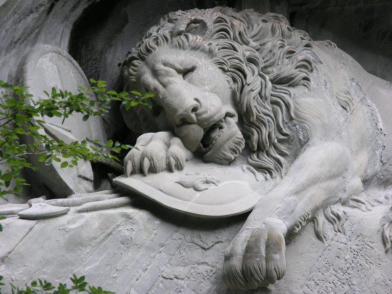 Lucerne-Dying Lion War Memorial