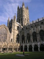 Touring-Canterbury Cathedral