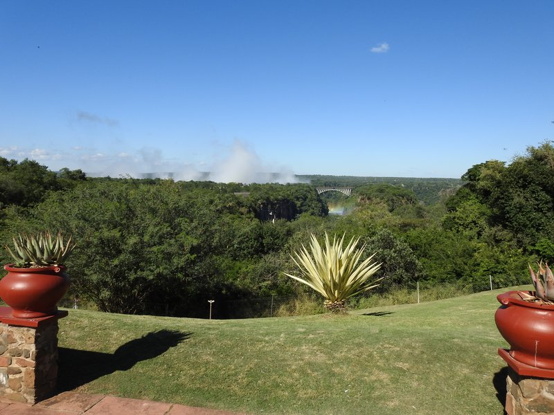 View from Victoria Falls Hotel