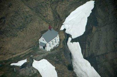 Church on a Mountainside
