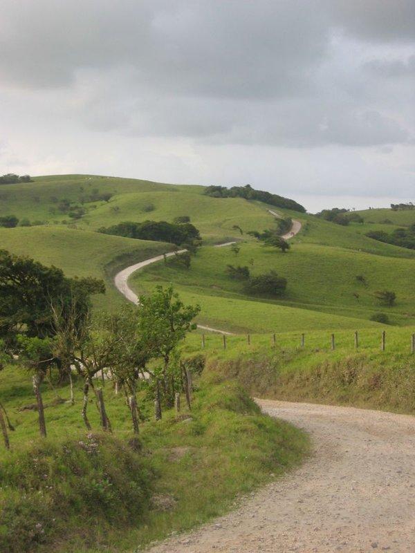 Road from Monteverde