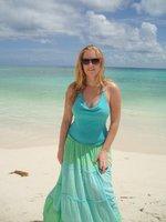 Kine på Mamitas stranden i Playa del Carmen