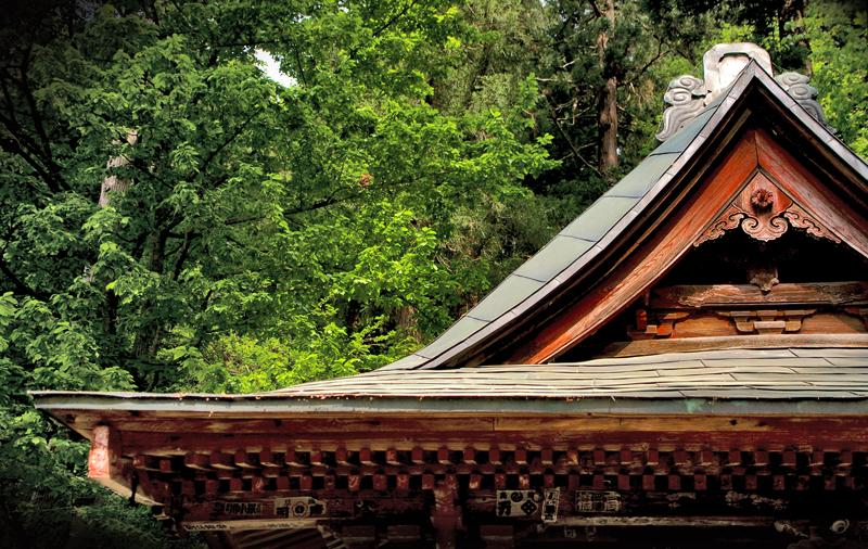 Aizu roof top.