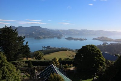 Views and Gardens at Larnach Castle