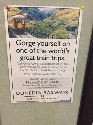 Taieri Gorge Train Ride
