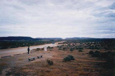 Road leading to the Flinders Ranges. - Adelaide