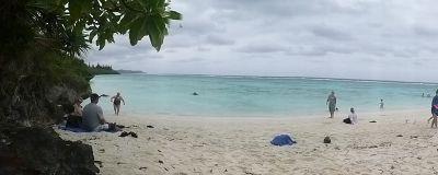 Mare Island pano New Caledonia by aussirose - Maré