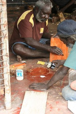Injalak Art and Craft Centre - Arnhem Land - gunbalanya northern territory australia