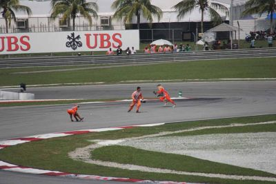 ausirose photos tyre burn out pickup F1 Sepang KL - Kuala Lumpur