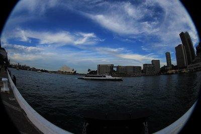Sydney Harbour Fisheye 1a