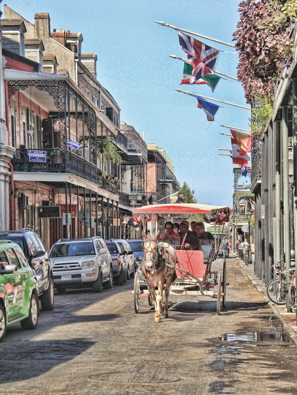 New Orleans - Horse and Buggy