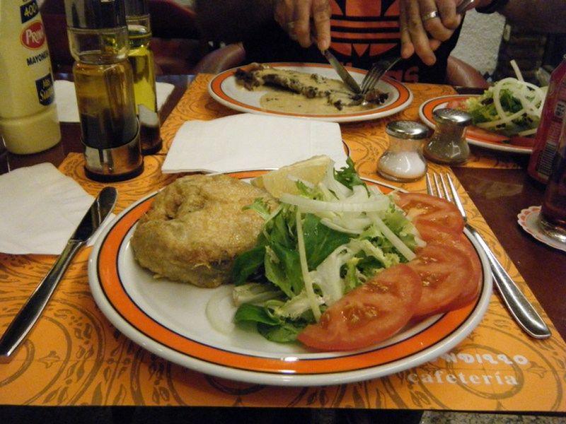 aussirose compares Spain and Australia seafood - Torremolinos