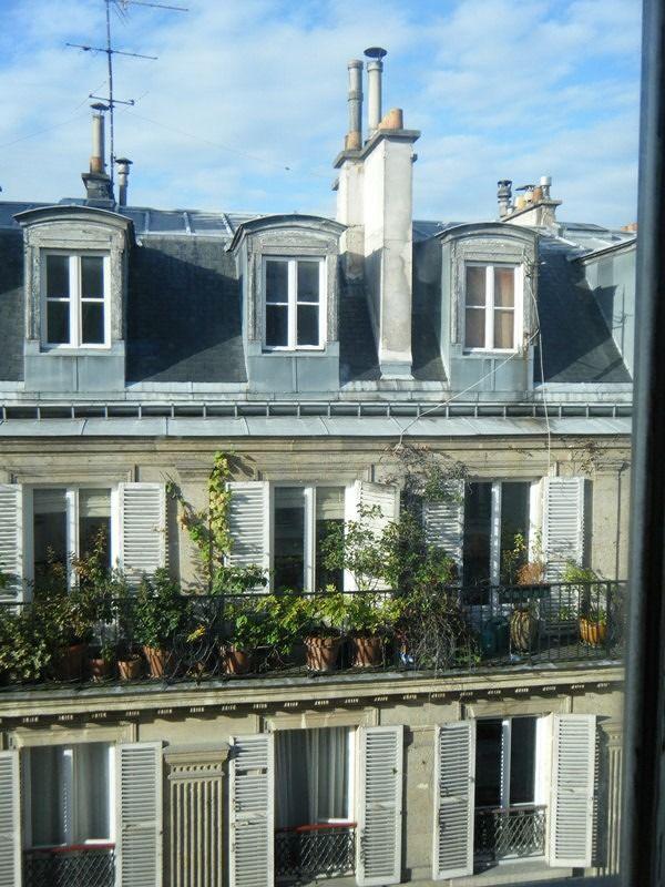 Hotel Cujas Pantheon view from window - Paris