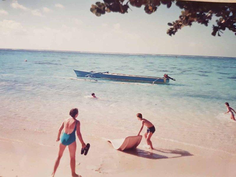 aussirose in Moorea Tahiti
