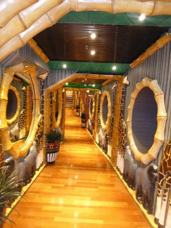 Jungle Walk Carnival Spirit, 2016 VT Cruise - Nouméa