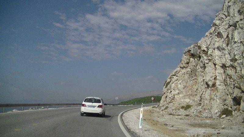 aussirose enjoys convertible car ride Sth Spain - Ronda