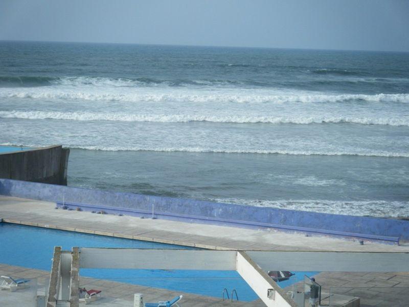 Atlantic coast Casablanca Morocco by aussirose