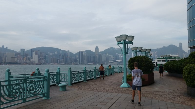 Hong Kong - Kowloon Prominade