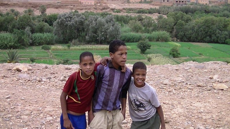 Children of the Sahara Desert by aussirose - Morocco