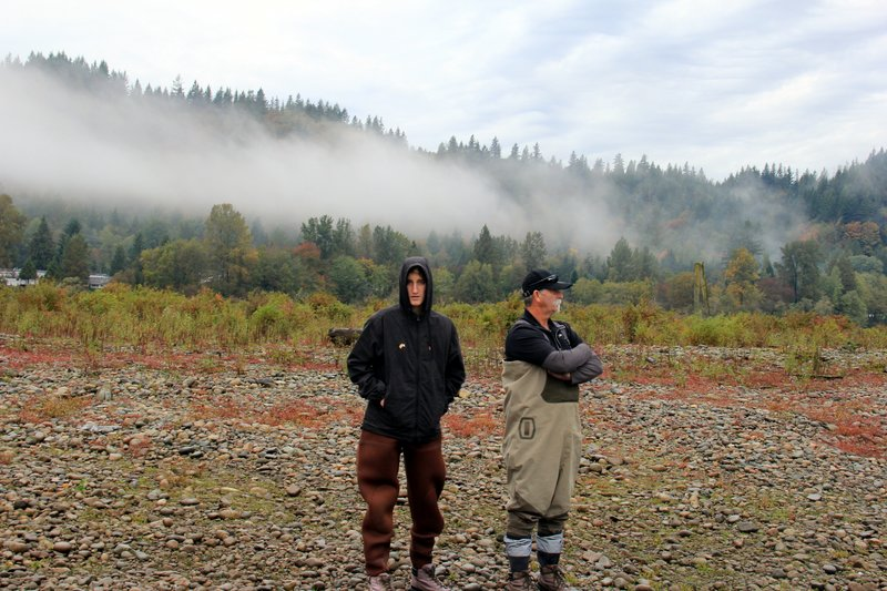 Vancouver - Fishing with Silversides - Fraser River