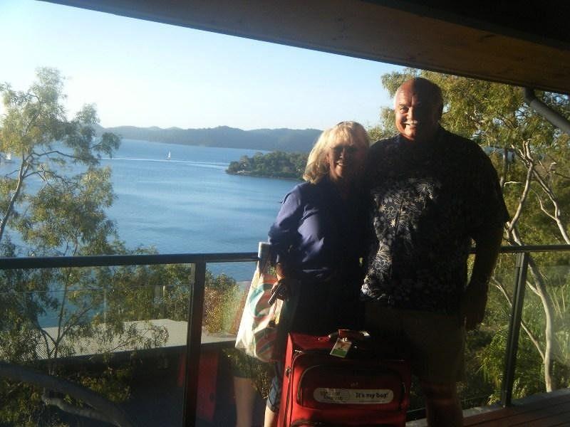 Stephanie & Gerry on Hamilton Island Australia - Airlie Beach