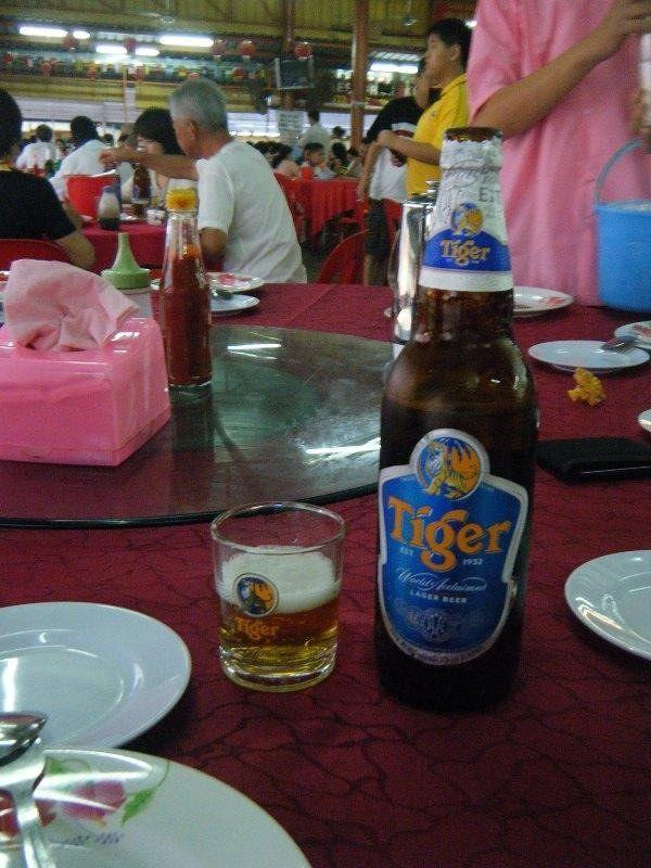 Tiger Beer in KL - Kuala Lumpur