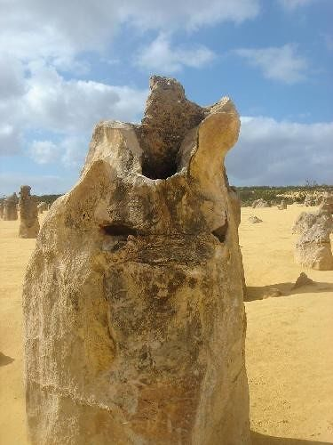 Scary monster rock Pinnacles - Cervantes
