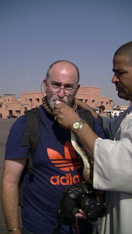 Tourist Trap - Snake Charmers Marrakech