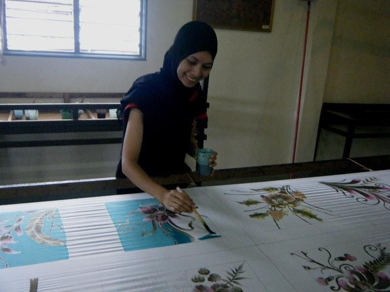 KL hand crafted batic silk Pareo - Kuala Lumpur