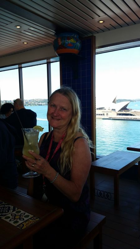 aussirose and Margarita, Sydney VT Cruise 2016  - Île des Pins