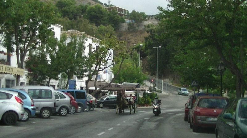 aussirose heads out of Mijas and on to Ronda Spain - Ronda