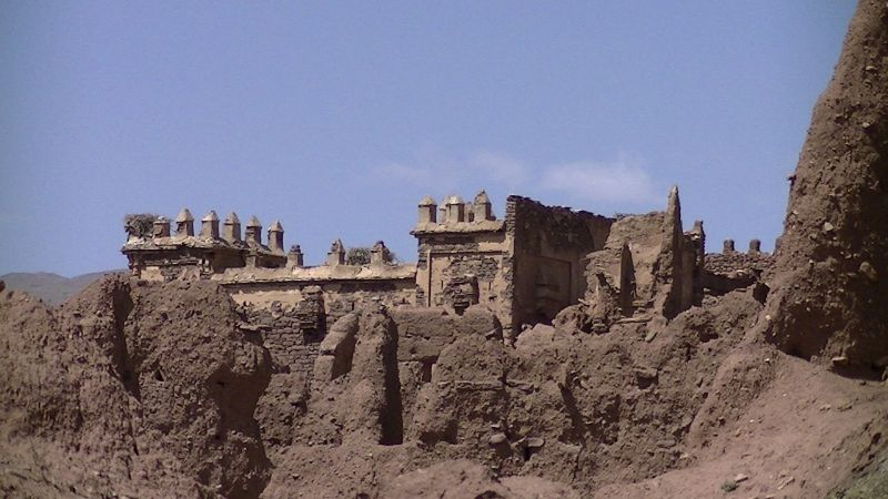 Kasbah Telouet Atlas Mountains - Morocco